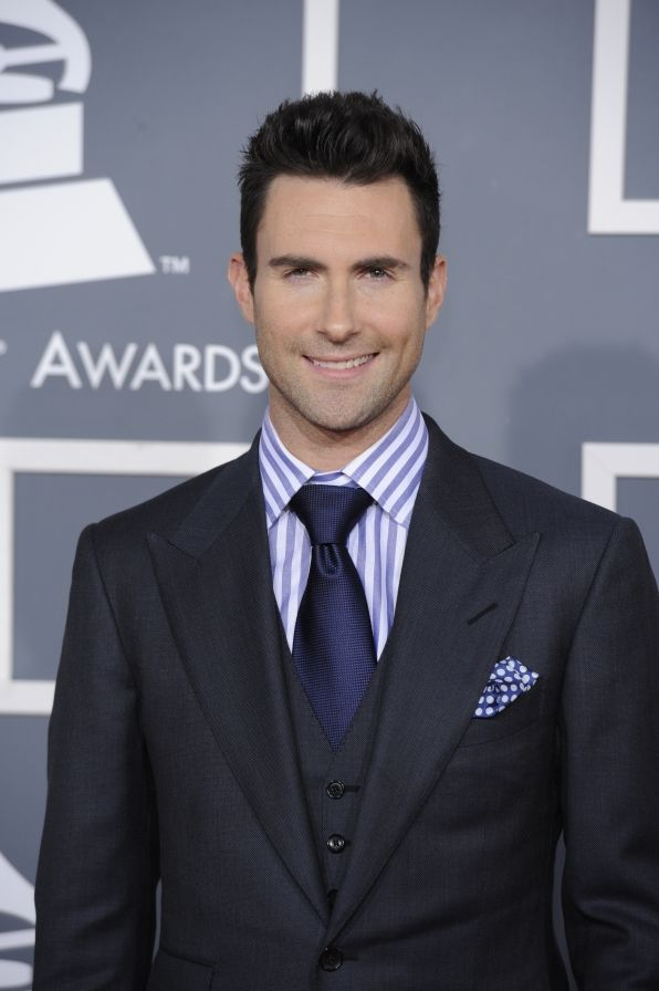 Adam Levine... Maybe it's your hair that causes me to look past the fact that you have small eyes.
