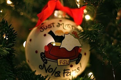 First married christmas ornament - 3 PHOTO! | Christmas Ornaments ...