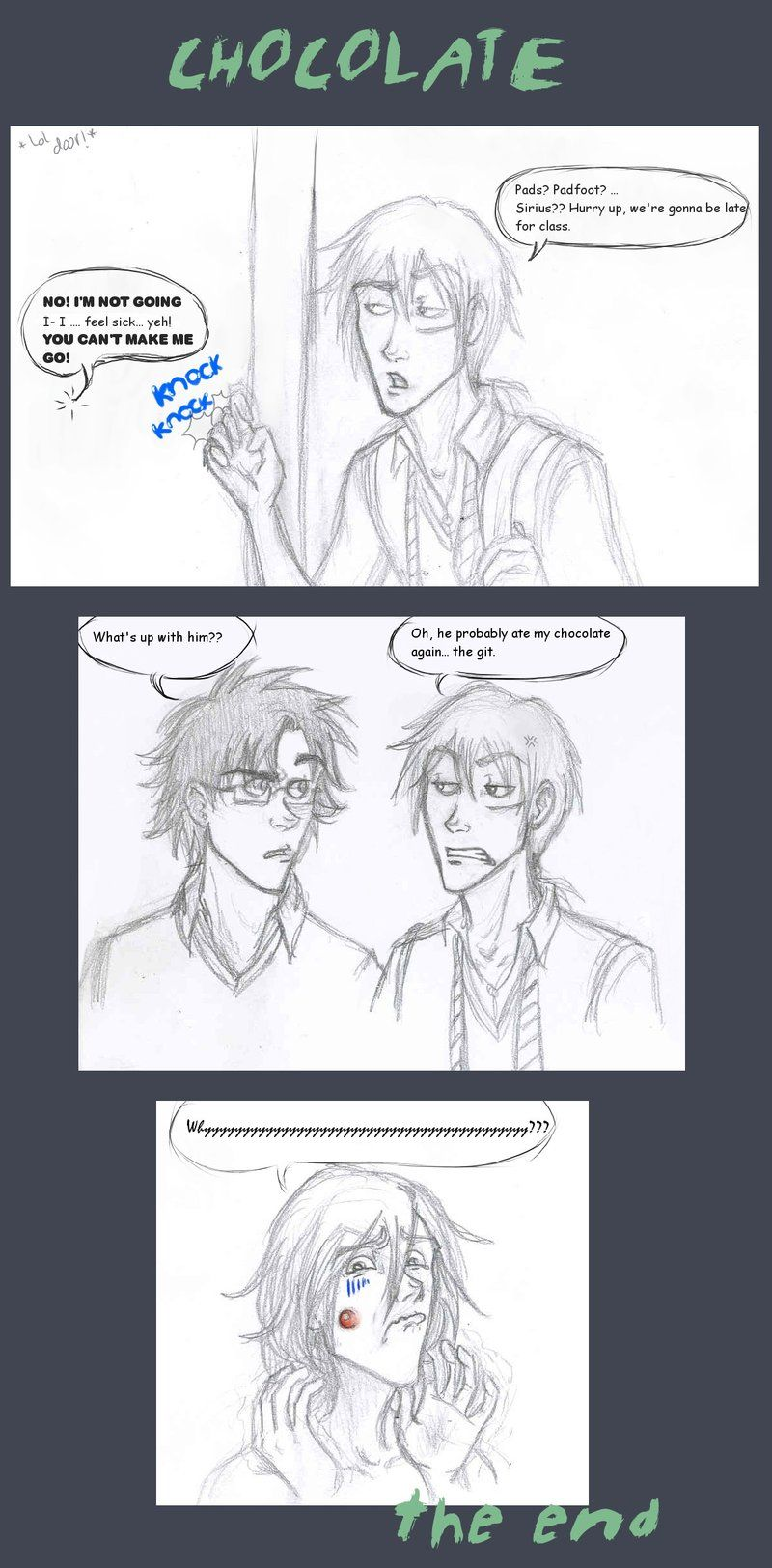 Chocolate by jolly2 on deviantART  The Marauders