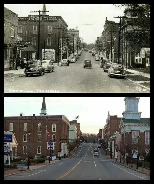 Downtown Greeneville Greeneville Tennessee Greeneville East Tennessee