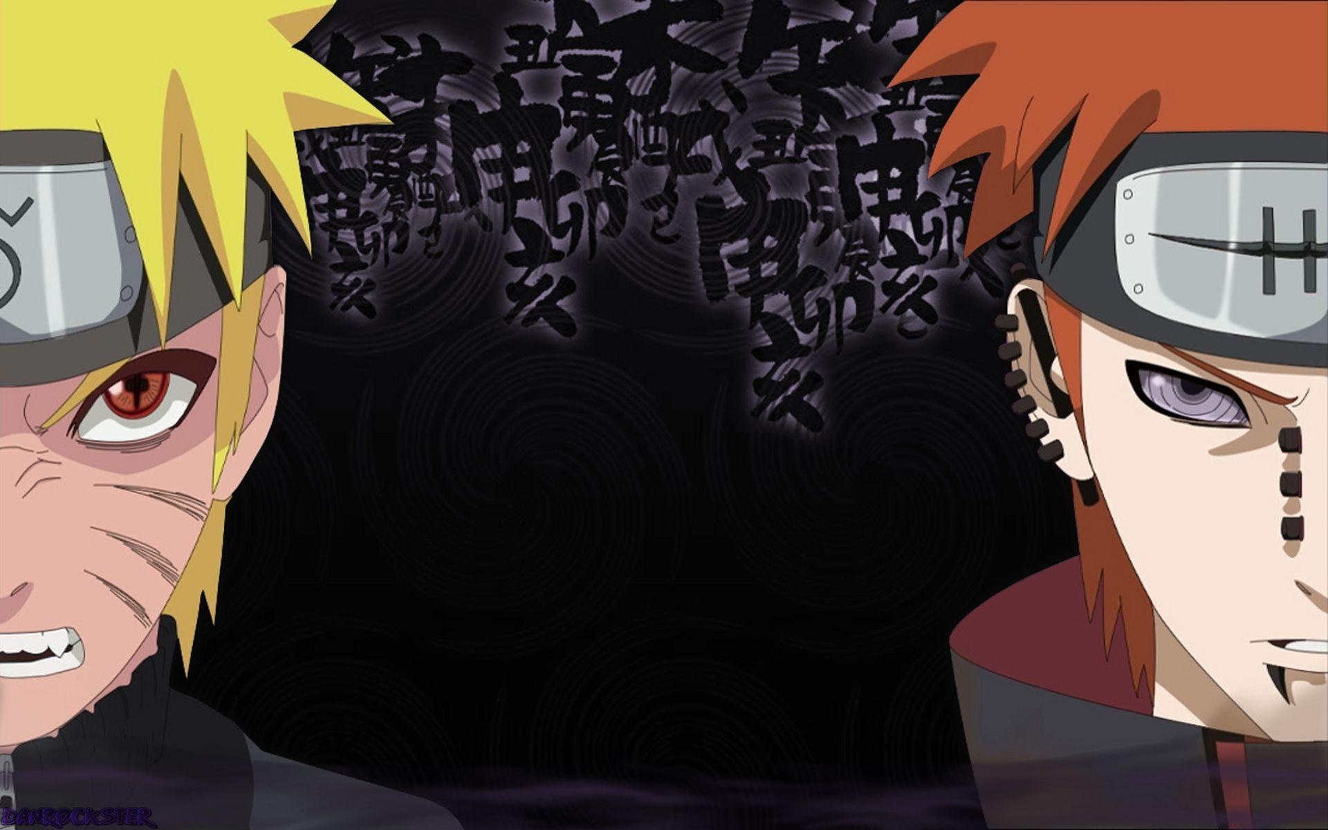 narutoshippudenpainwallpapertmWB Naruto Pinterest
