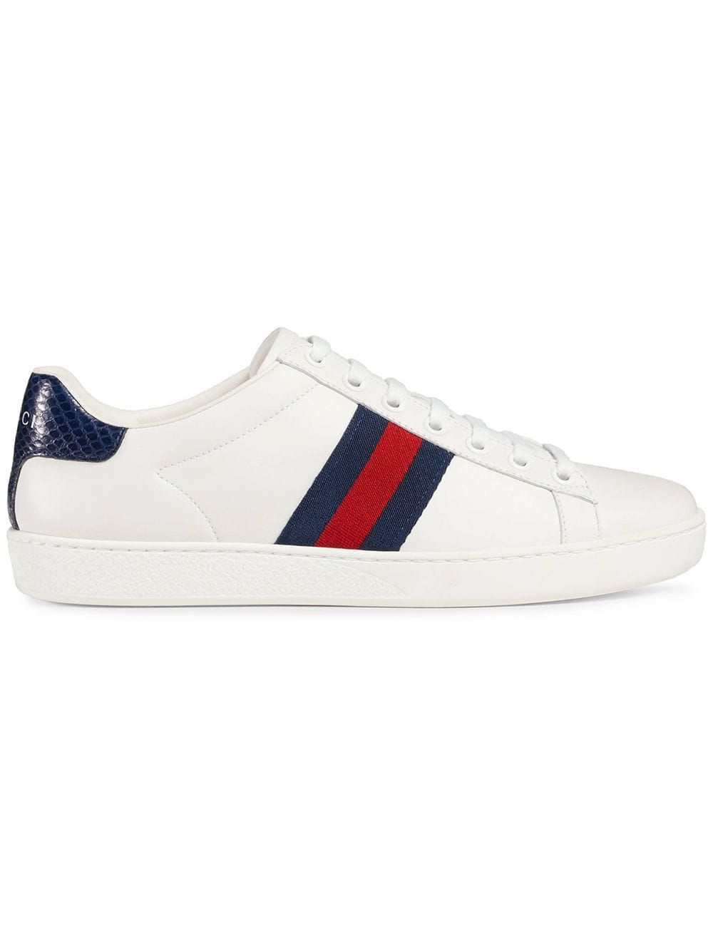 29d5f8353 Gucci Ace low-top sneakers - White in 2019 | Products | Gucci ...
