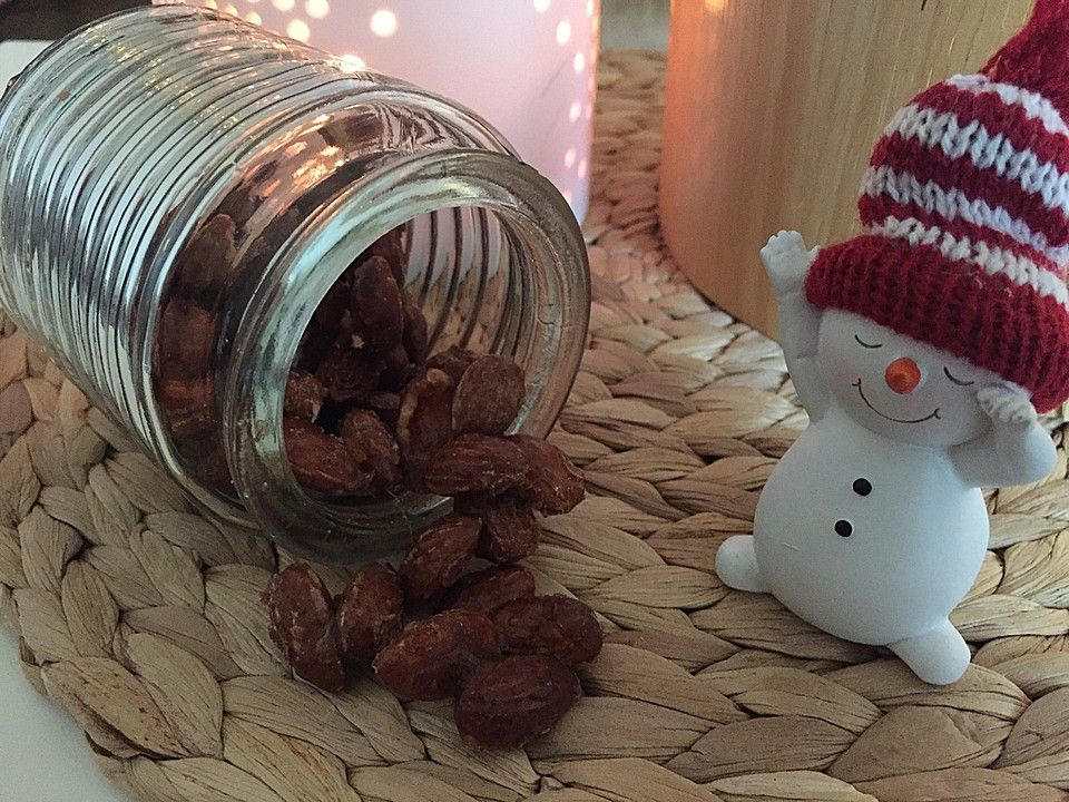 Gebrannte Mandeln aus der Mikrowelle von gluehwurm50 | Chefkoch #gebranntemandeln
