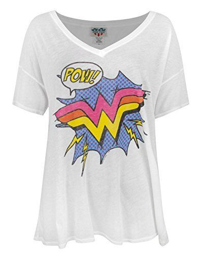 Junk Food Wonder Woman Pow Women's Relaxed Top, http://www.amazon.ca/dp/B01CGLWZCG/ref=cm_sw_r_pi_s_awdl_ejTJxbG8NW2MS