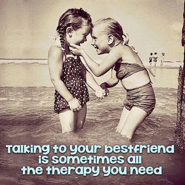 #talking #bestfriend #BFF #therapy #need #friendship