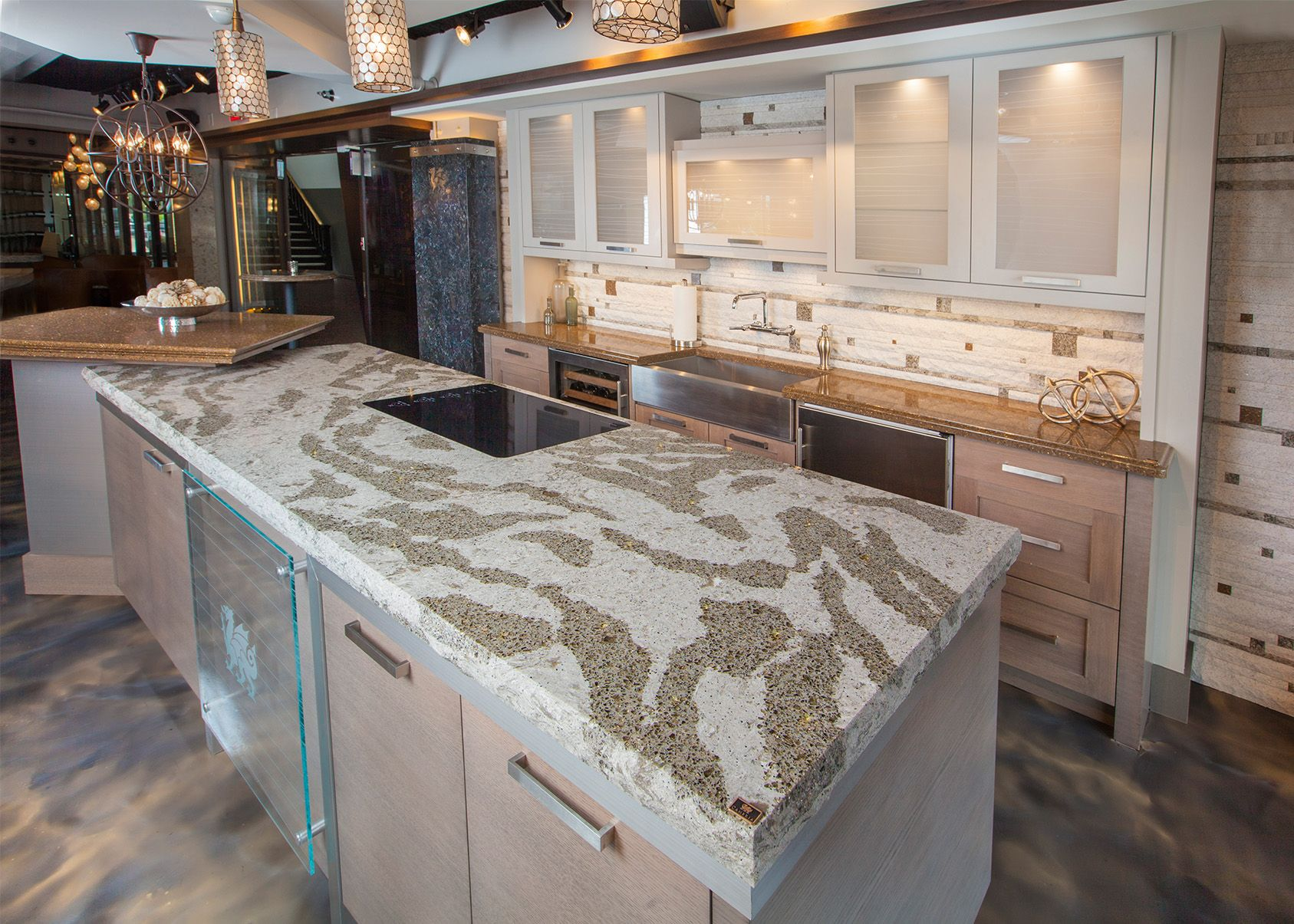 Granite Countertop · Independent   Medium: Cambria Gallery Rochester  Http://www.cambriausa.