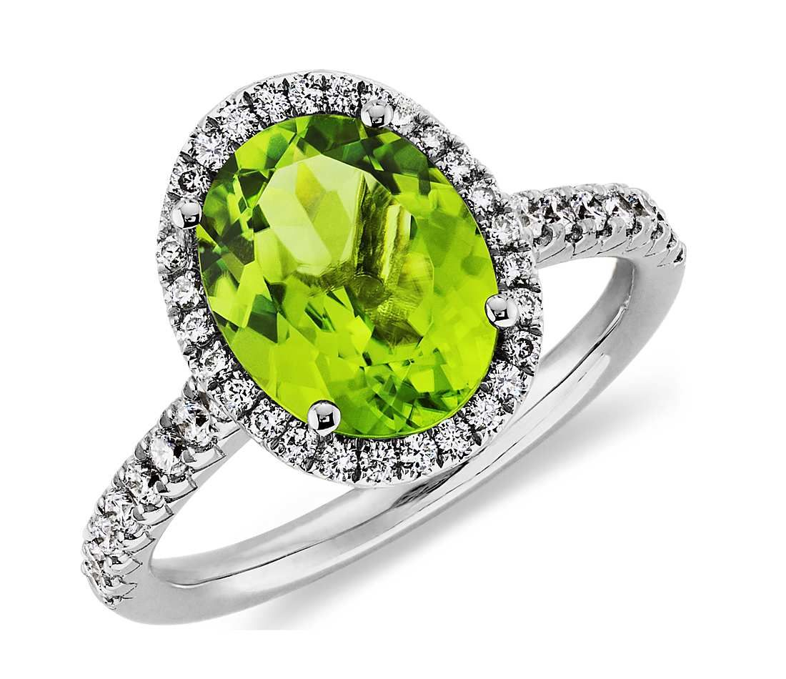 peridootti ring palladium bezel product en sormus in engagement peridot the rings with
