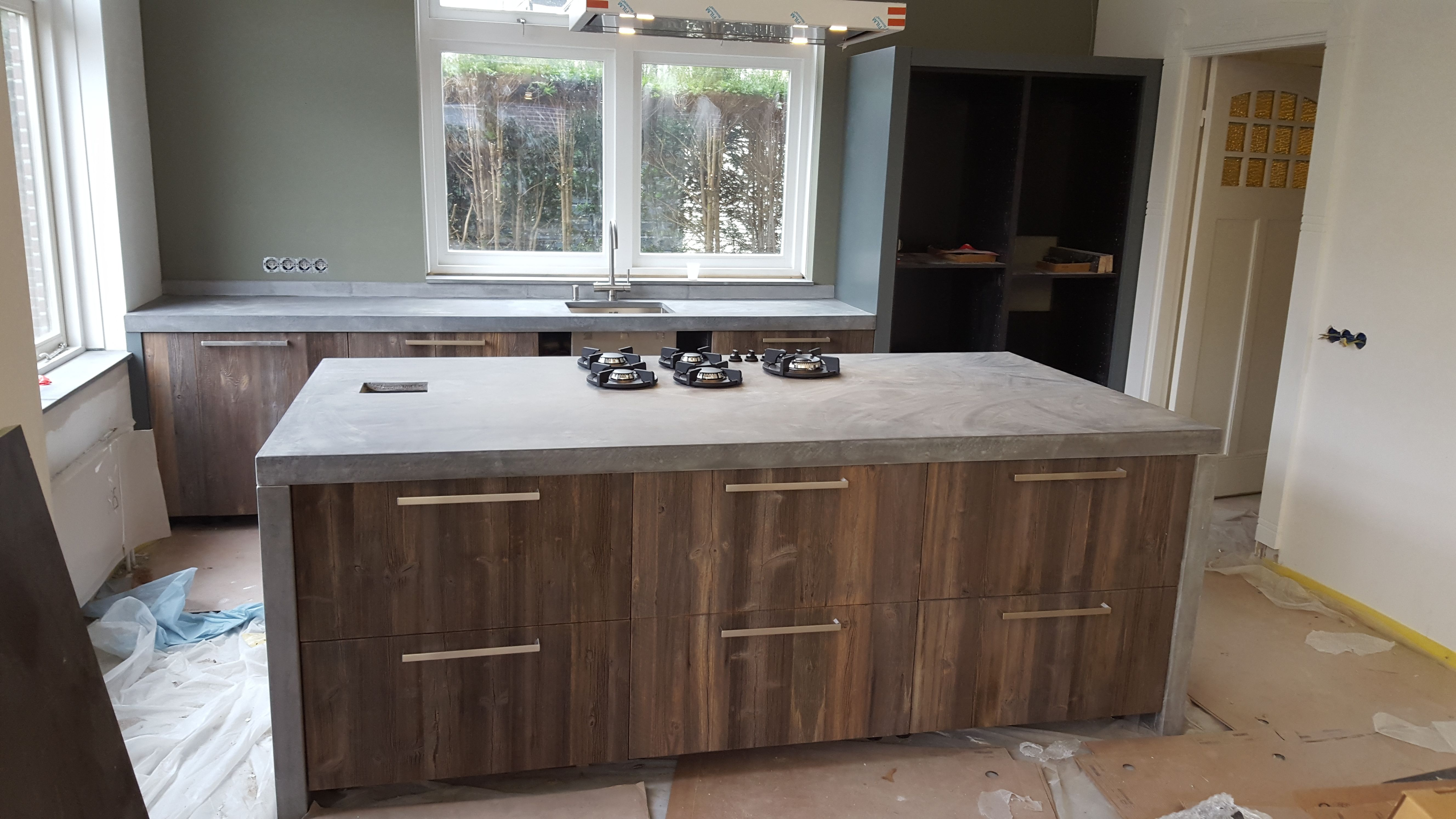 Toonbank Keuken Barnwood Koakdesign Our Koak Design Kitchens