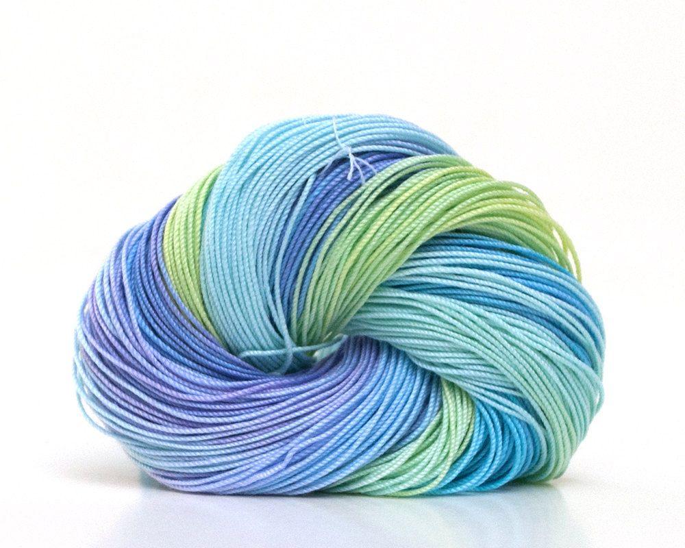 Hand Dyed Tatting Thread Crochet Cotton Size 30 Tatting