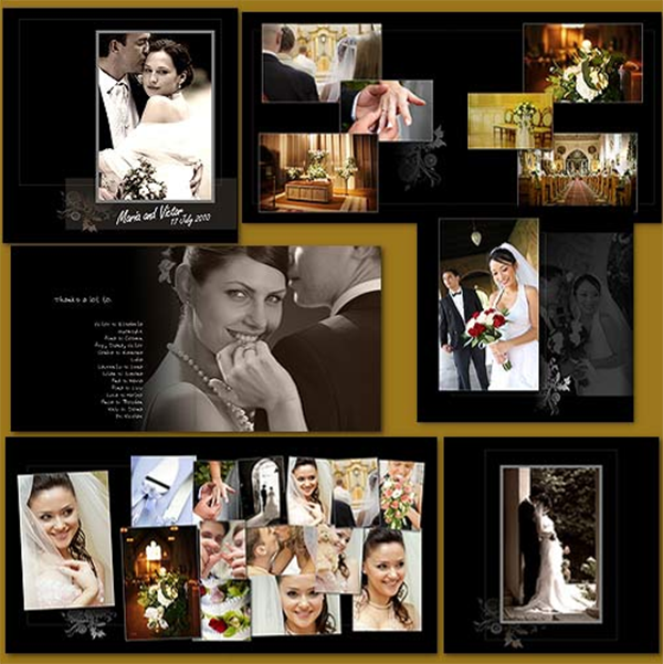 Wedding Album Design Software Digital Photography Free Download: Wedding Album Design Template