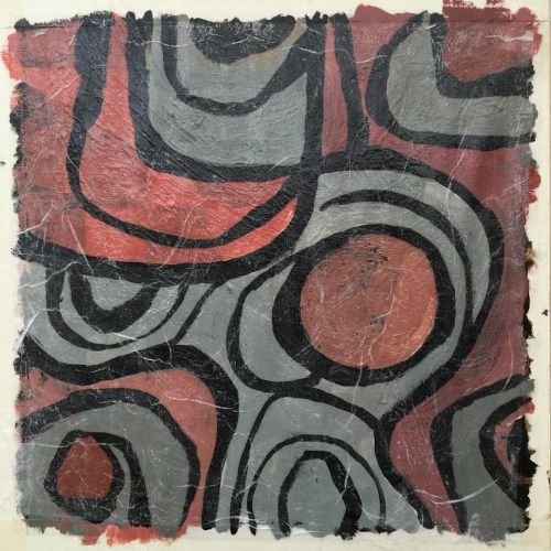 """robcolvinart: """"Between Something and Nothing"""" 8x8 inches,..."""