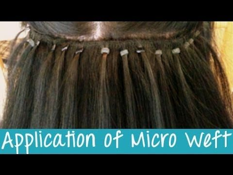 Micro weft hair extensions application instant beauty micro weft hair extensions application instant beauty pmusecretfo Images