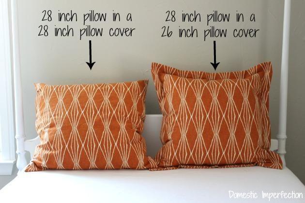 Diy Pillow Shams Sewing A Euro