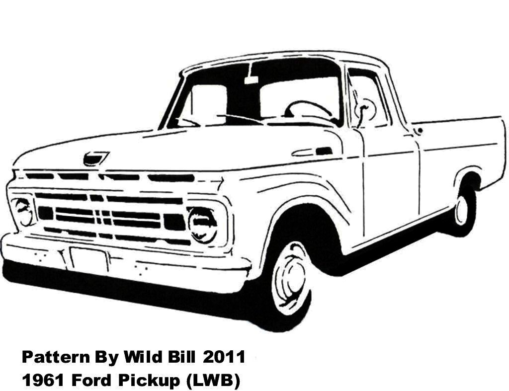 1961 ford truck lowered