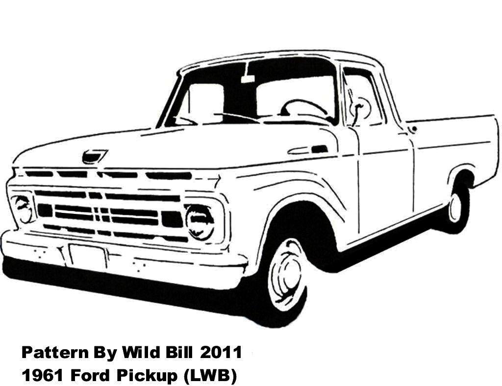 1961 ford pickup  lwb  - transportation