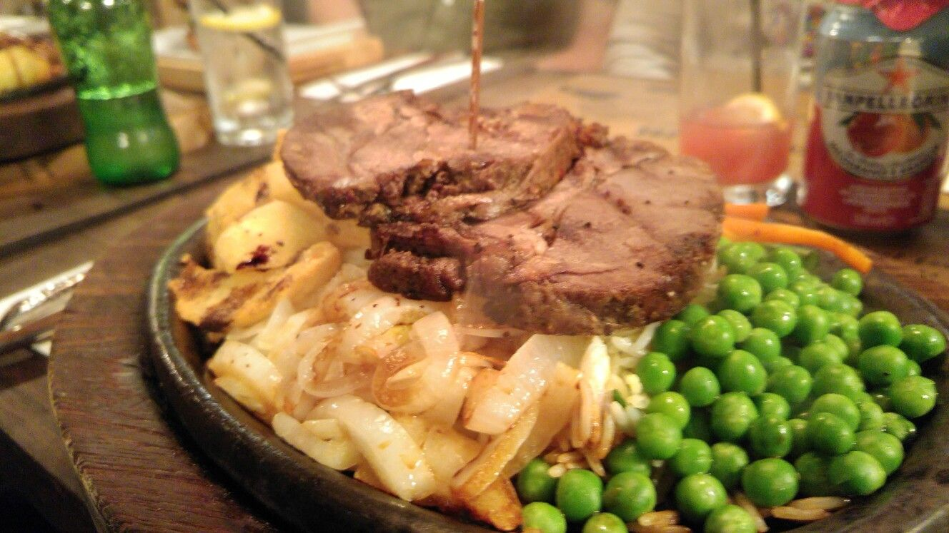 Lamb Steak From Kobe Sizzlers In Leicester Uk Halal Halal Recipes Food Halal