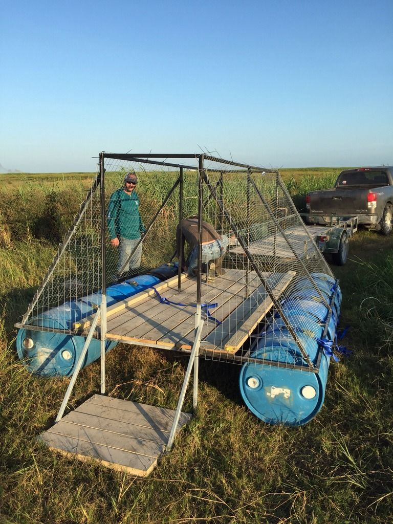 Floating Duck Blind Archive Texasbowhunter Com