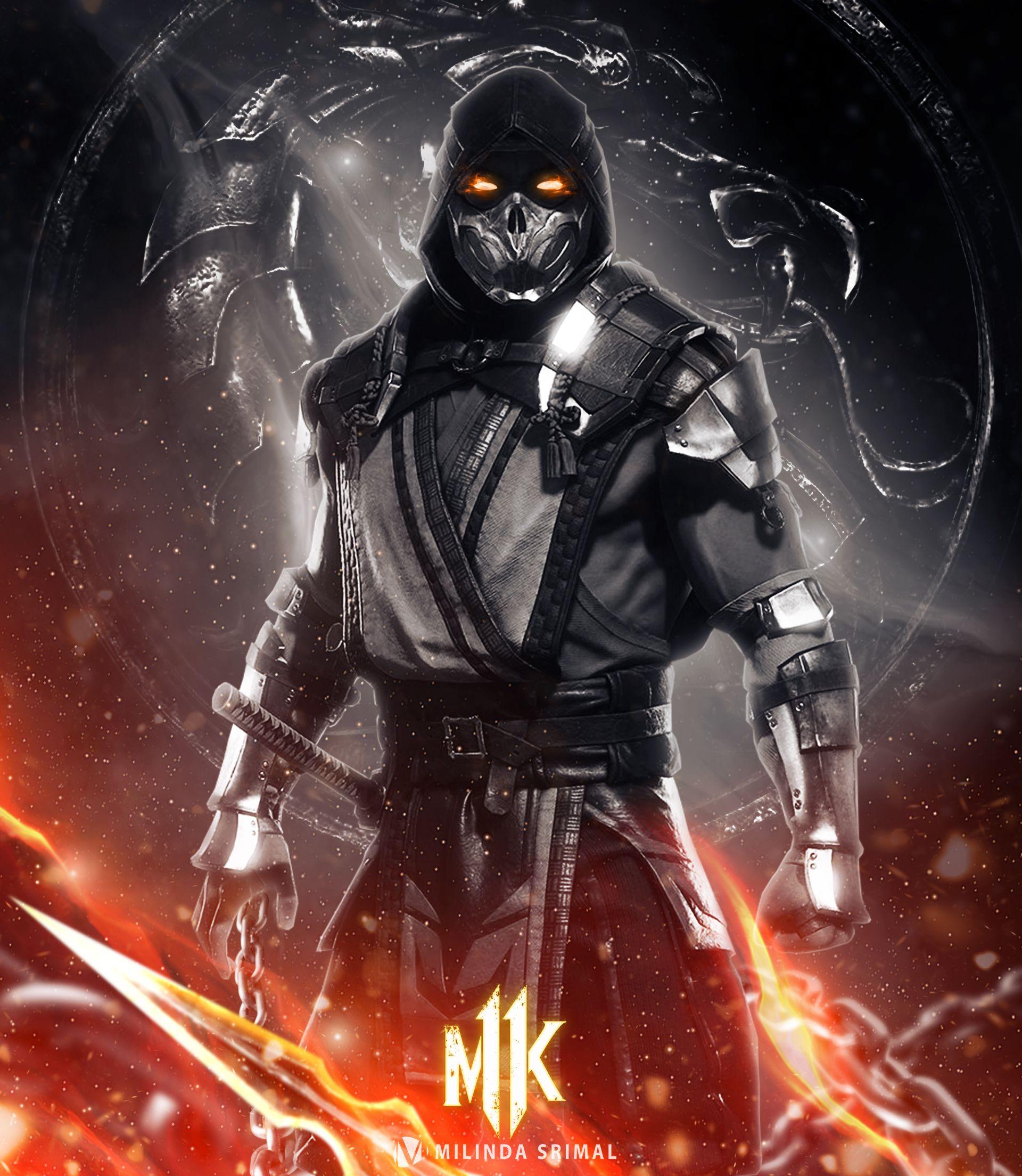 Mortal kombat movie scorpion mortal kombat movie poster