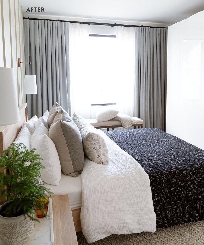 Cosy Bedroom Ideas For A Restful Retreat: Bedroom Makeover: A Small City Master Becomes A Cozy