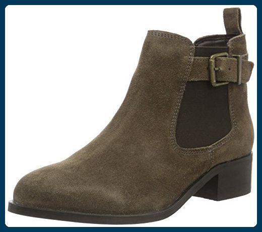 Miss Kg Damen Shallow Chelsea Boots Braun Taupe 39 Eu Stiefel Fur Frauen Partner Link Stiefeletten Damen Stiefel