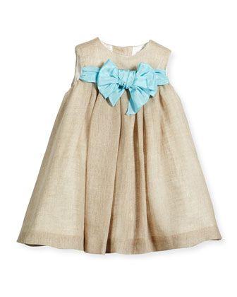 4210b8ad411 Sleeveless+Linen+Shift+Dress