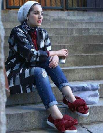 Pin By Rawnaq Akram On Hijab Girls Fashion Winter Jackets Hijab