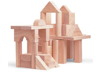 50 Wooden Blocks From Plan Toys