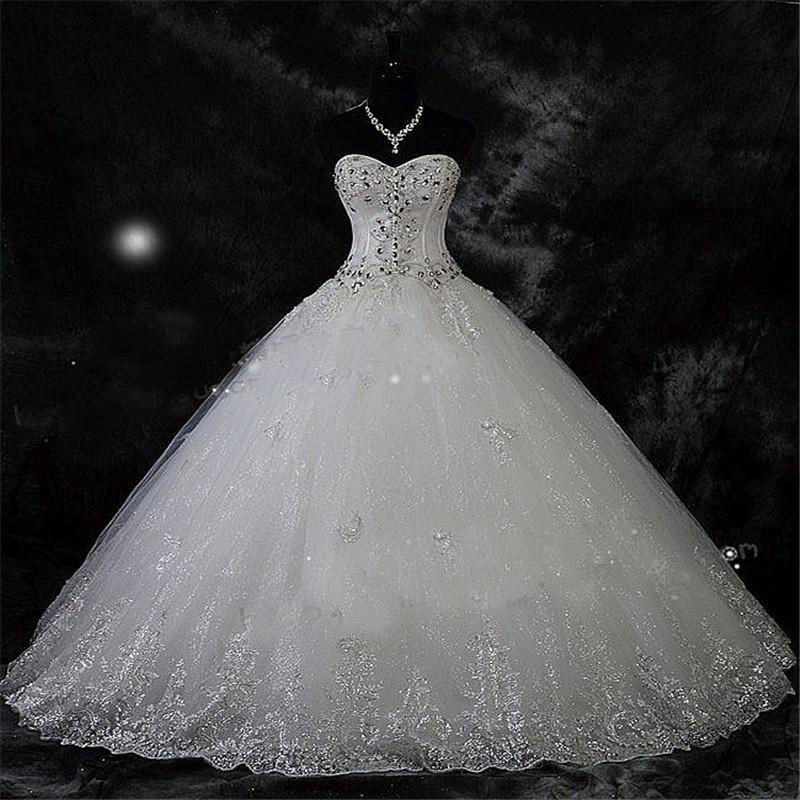 Photo of Großhandel Robe De Mariage Spitze Strass Plus Size Ballkleid Brautkleider 2020 Hochzeit Brautkleider Vestido De Novia Von Sarawedding, $138.45 Auf De.Dhgate.Com | Dhgate