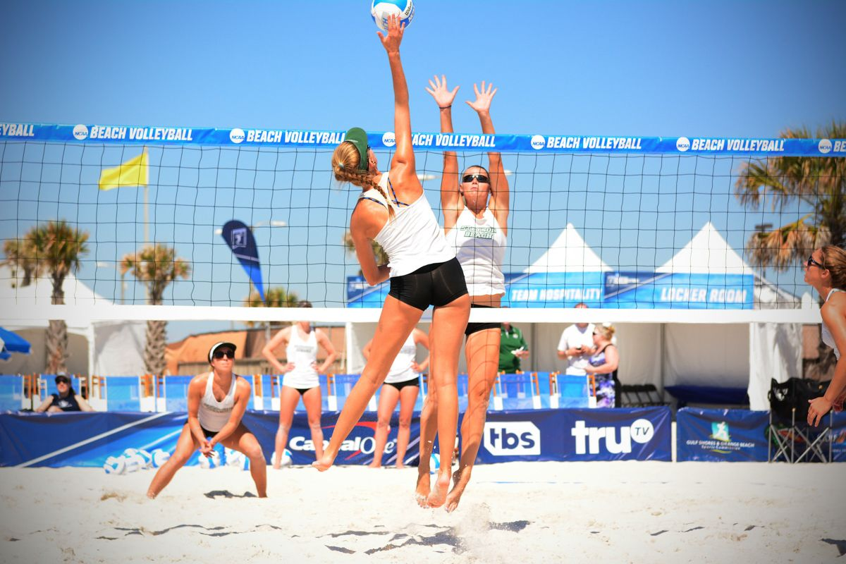 Become The Ultimate Ncaa Beach Volleyball Vip Beach Volleyball Volleyball Ncaa Championship