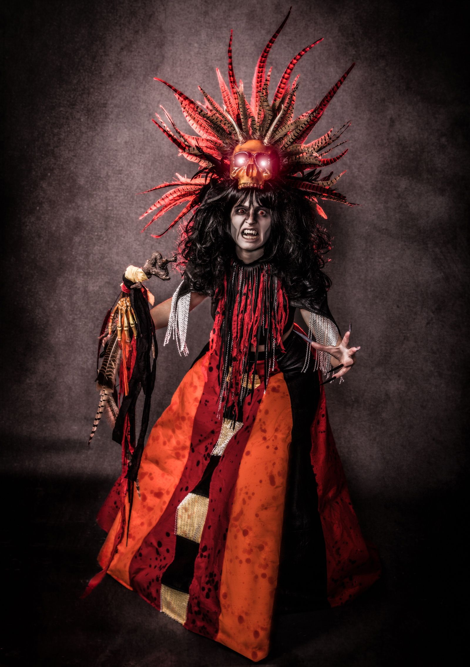 Voodoo High #Priestess #Mastra was hand picked by #Satan himself ...