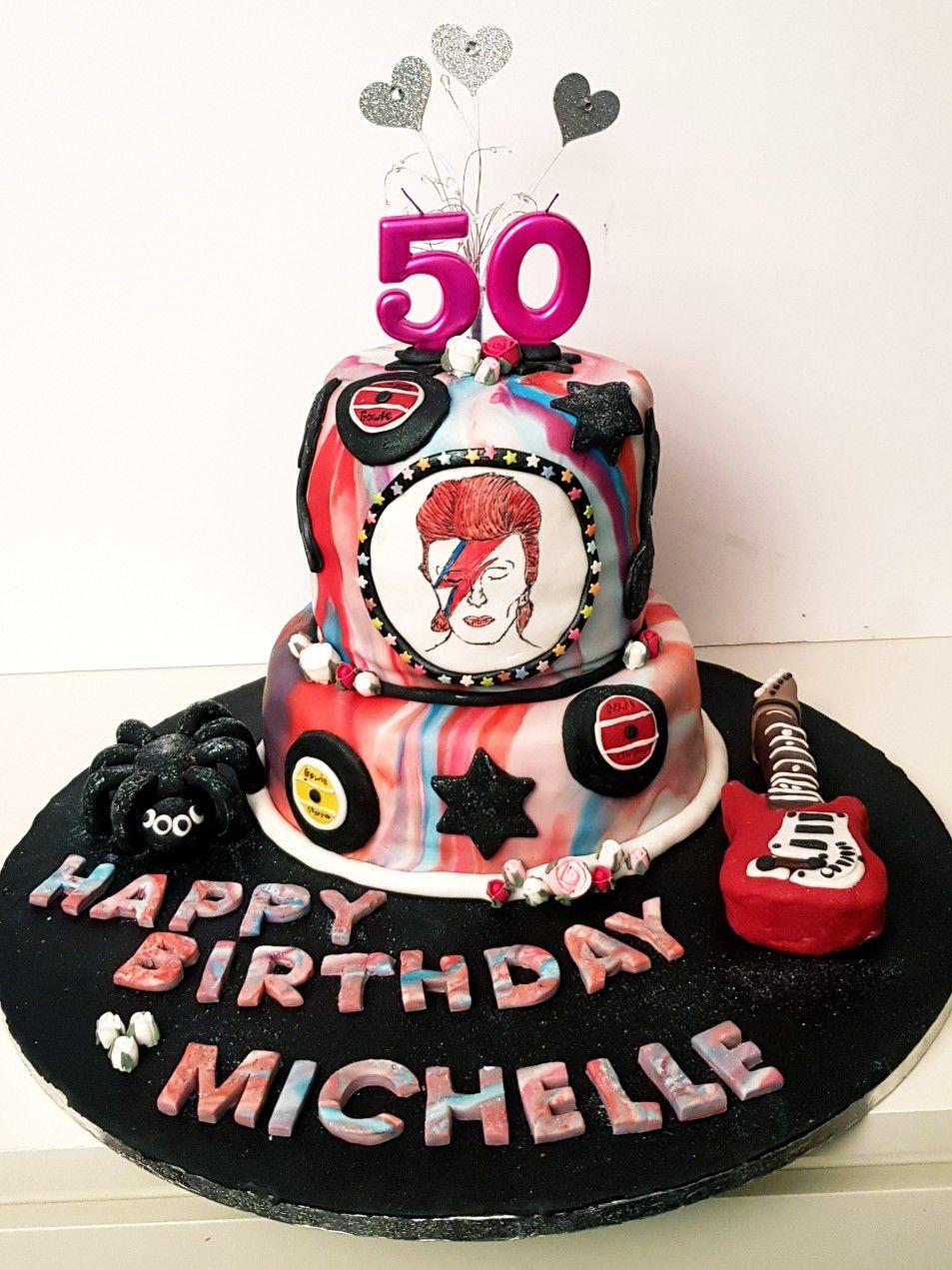 Ziggy Stardust David Bowie Cake How To Make Cake