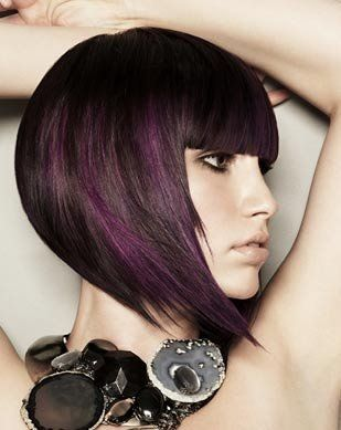Purple peekaboo highlights dark hair temecula peek a boo purple peekaboo highlights dark hair temecula peek a boo highlights yelp pmusecretfo Image collections