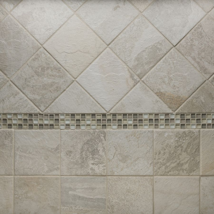 Shop Style Selections Ivetta White Glazed Porcelain Floor Tile Common 6 In X 6 In Actual 5 8