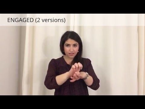 Learn ASL: Different types/stages of relationships in sign language - YouTube