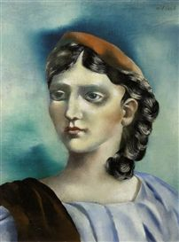 """Griekse vrouw (Greek Woman)"", 1931, by  Carel Willink (Dutch, 1900-1983)."
