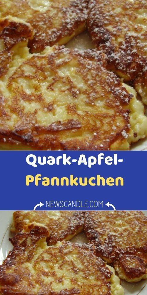 Photo of Ingredients 500 g quark 3 eggs 40 g sugar 150 g flour 250 g apples (finely chopped) 1st step …