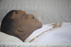Redd Foxx Funeral Open Casket Dead Celebs Post Mortem Death