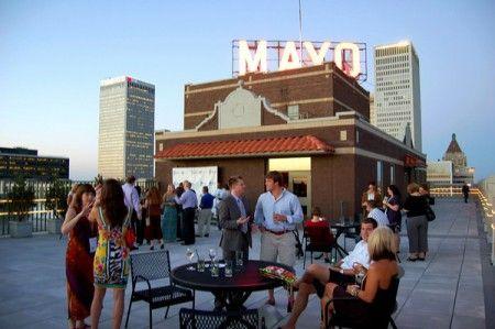 Penthouse At The Mayo Hotel Tulsa Ok Favorite Bars