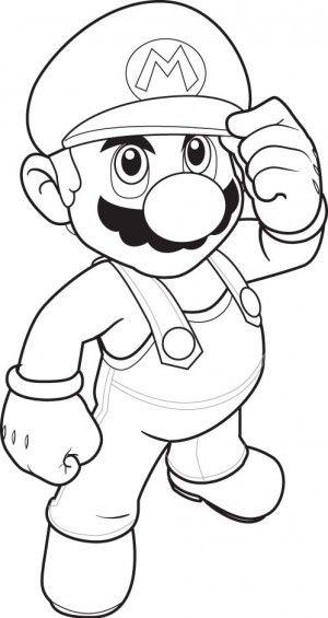 super mario bros coloring pages | Coloring | Pinterest | Super mario ...