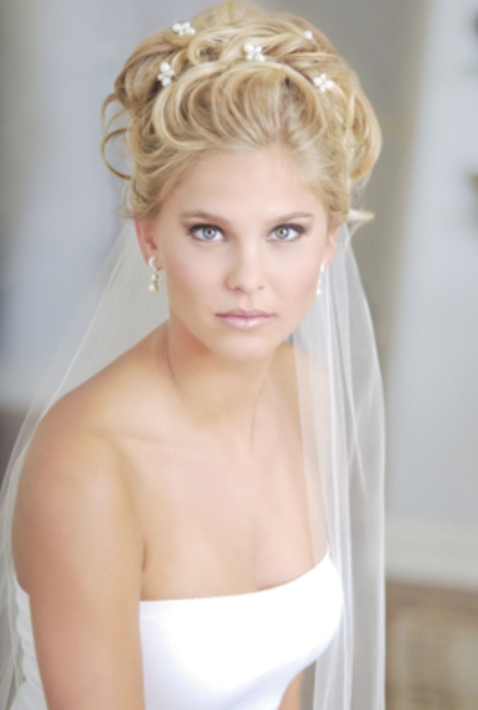 Up with veil wedding bridal hair u beauty pinterest veil and