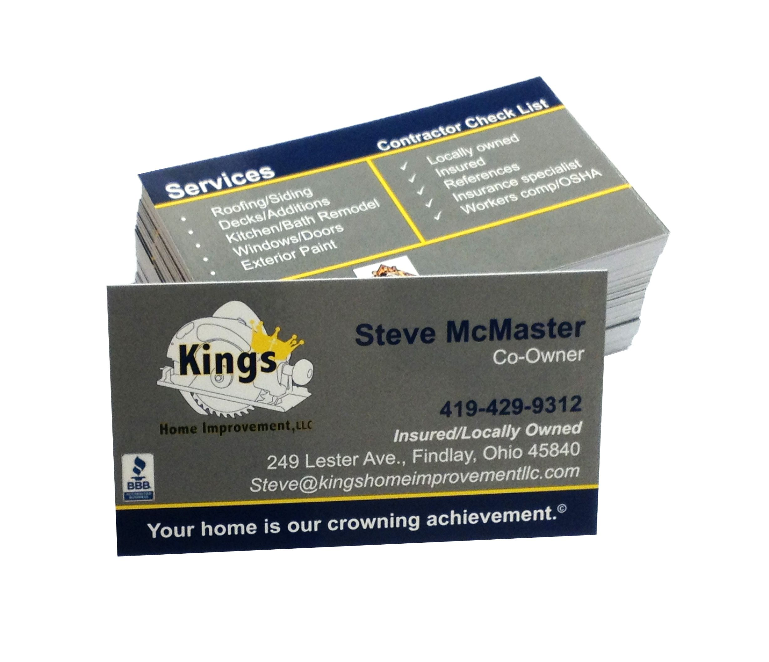 King s Home Improvement had a challenge for us with lots of