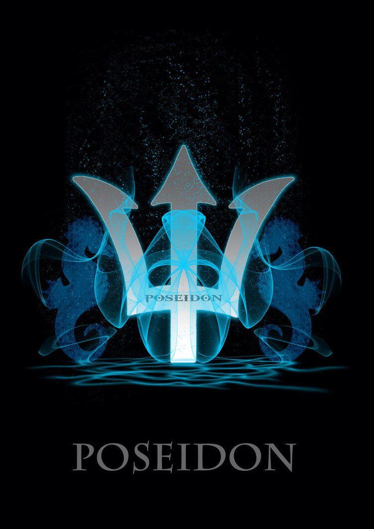 Poseidon Trident Symbol Poseidon God Of The Seas Pinterest