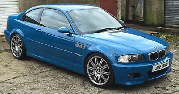 2002 Bmw E46 M3 Laguna Seca Blue Manual Coupe View More On