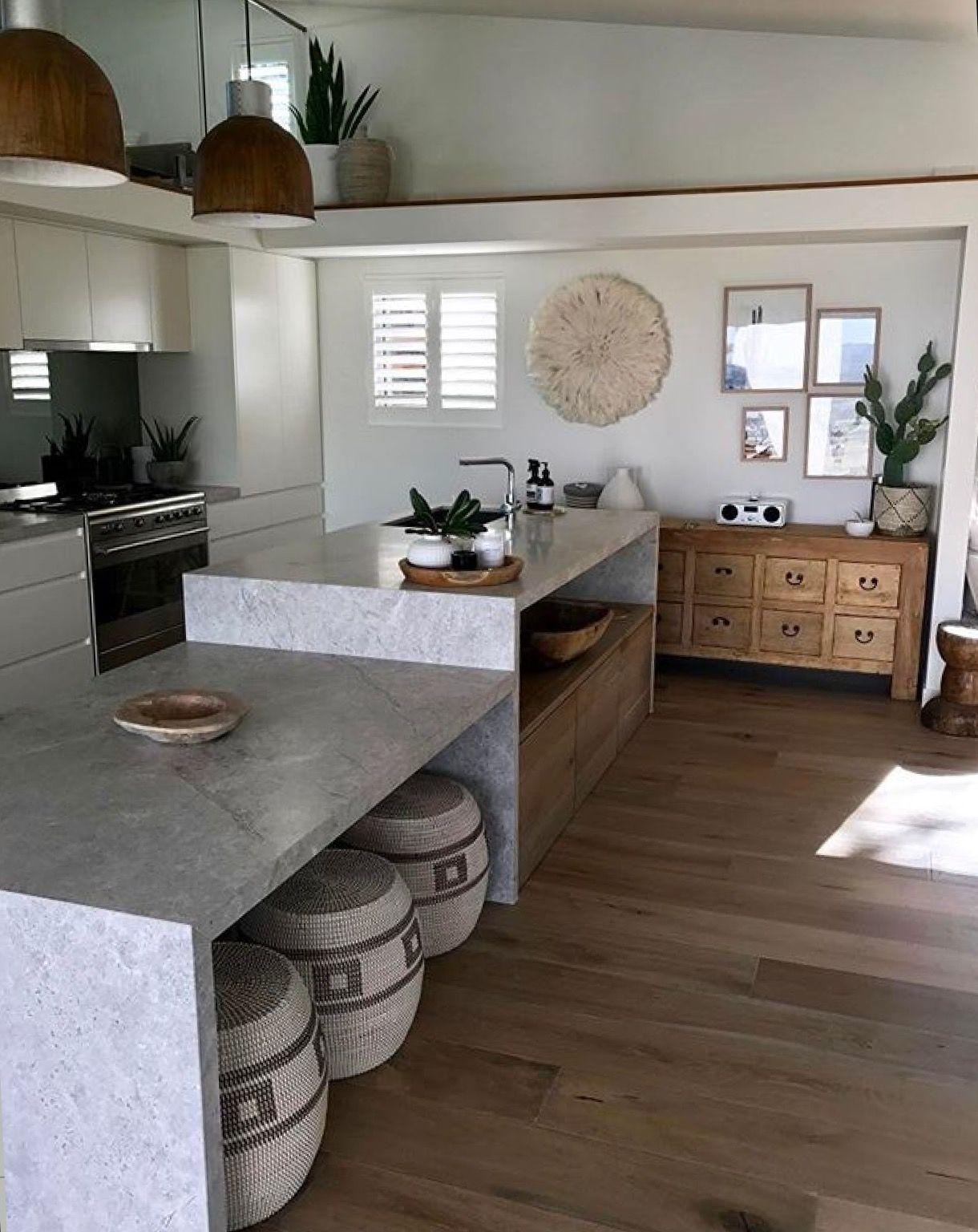 Gorgeous New Savior Limestone Kitchen Split Level Bench Allows A