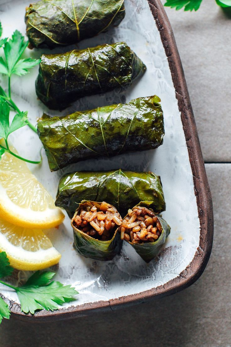 Spicy Vegan Stuffed Grape Leaves Grape Leaves Recipe Stuffed Grape Leaves Vegan Appetizers
