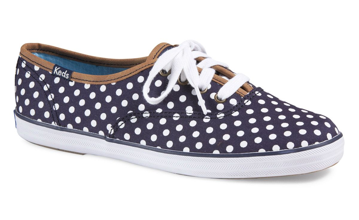 keds black and white polka dot shoes