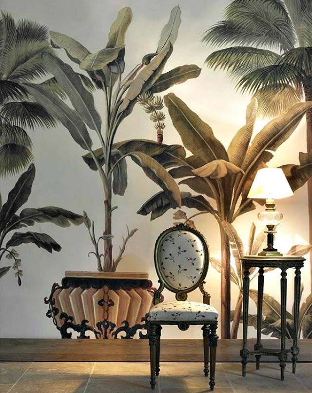 The Ace Picks Nine Favorite Tropical Wallpapers Wall Coverings