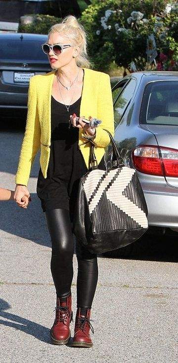 Gwen Stefani in Dr Martens. Buy online at  http   www. 770365762e77