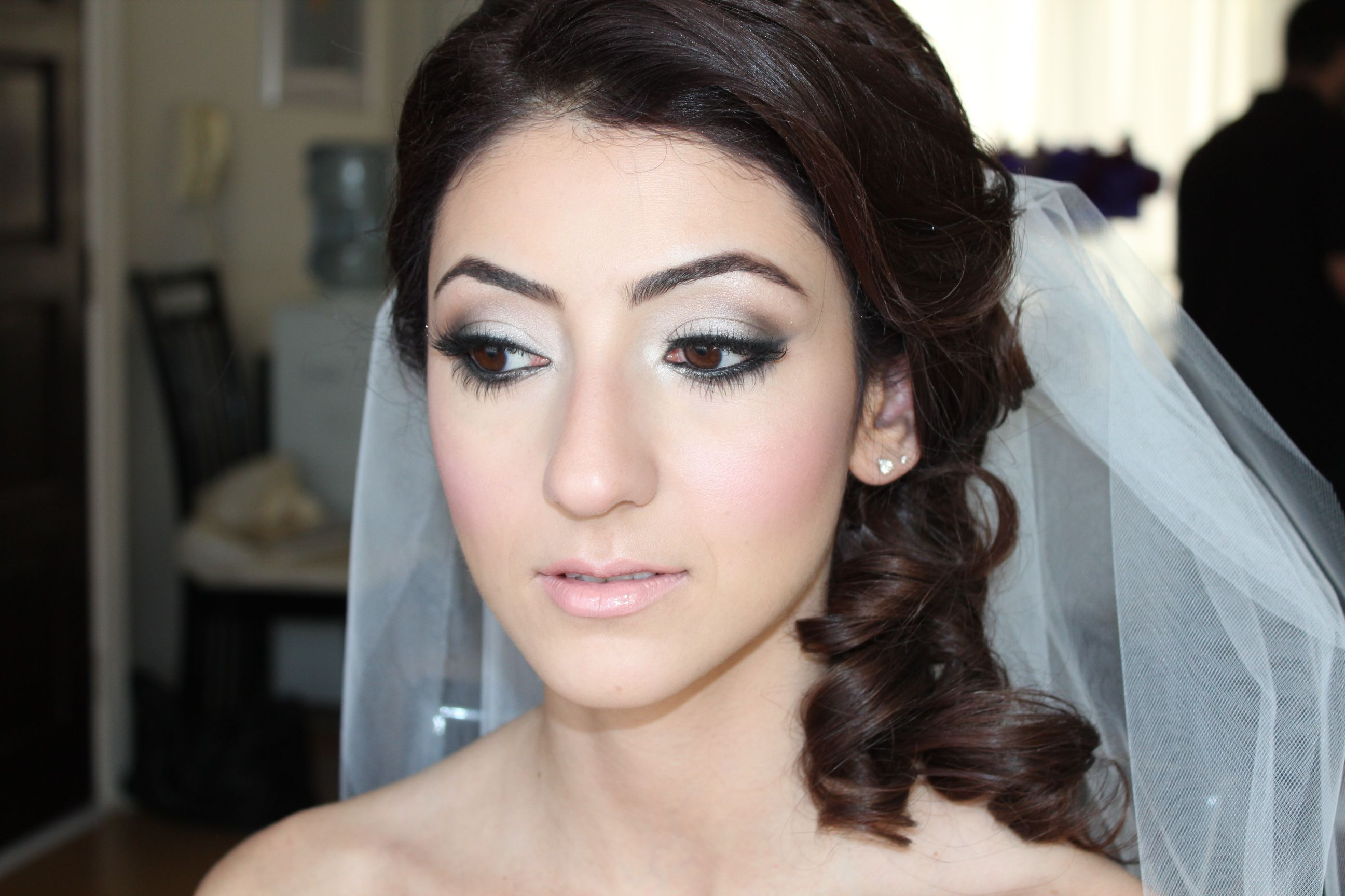 love this soft look! Bridal Beauty Inspiration Dramatic ...