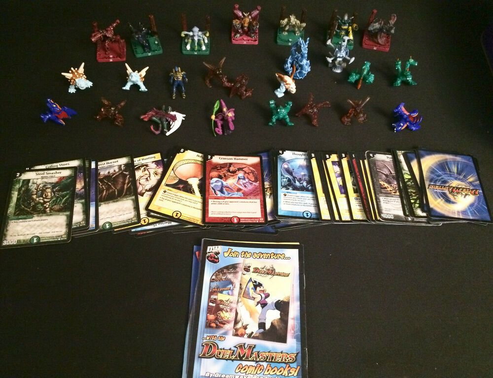 Duel masters trading cards toys collectables job lot